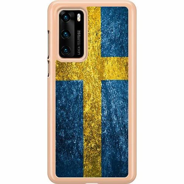 Huawei P40 Hard Case (Transparent) Sweden