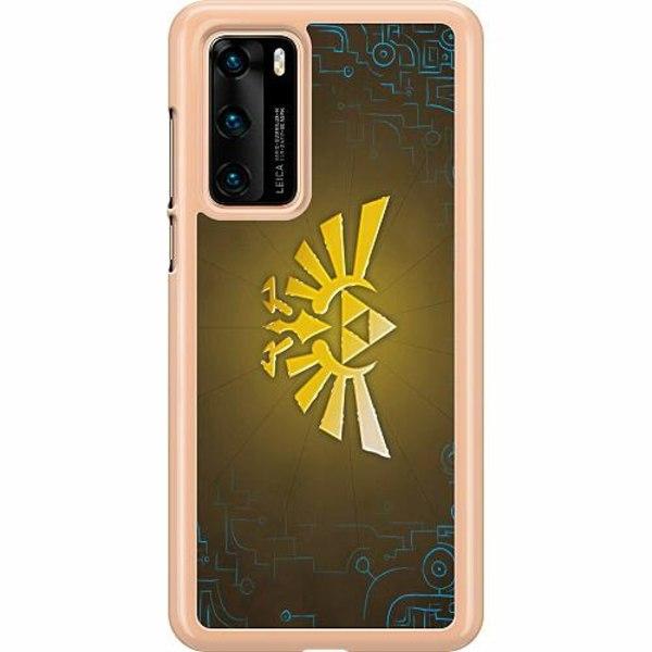 Huawei P40 Hard Case (Transparent) The Legend Of Zelda