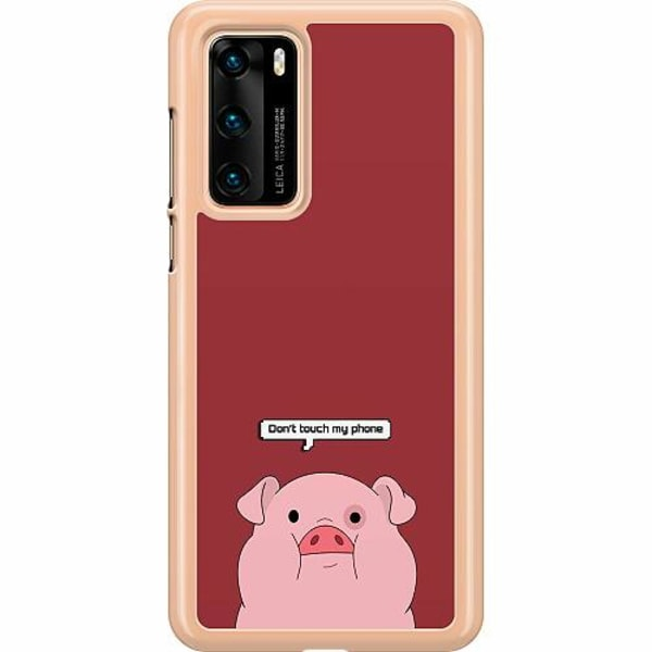 Huawei P40 Hard Case (Transparent) Touch My Phone