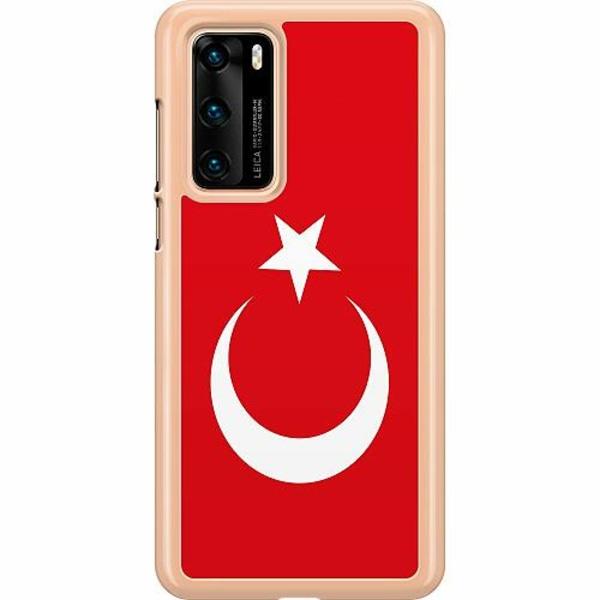 Huawei P40 Hard Case (Transparent) Turkiet