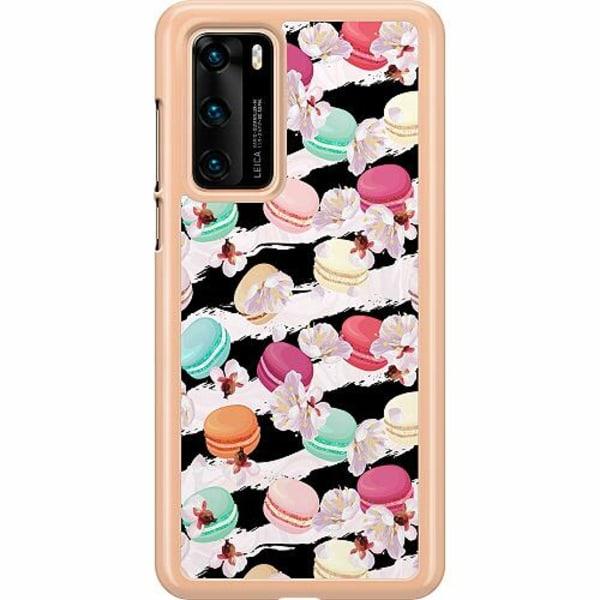Huawei P40 Hard Case (Transparent) U Macaron Me Crazy