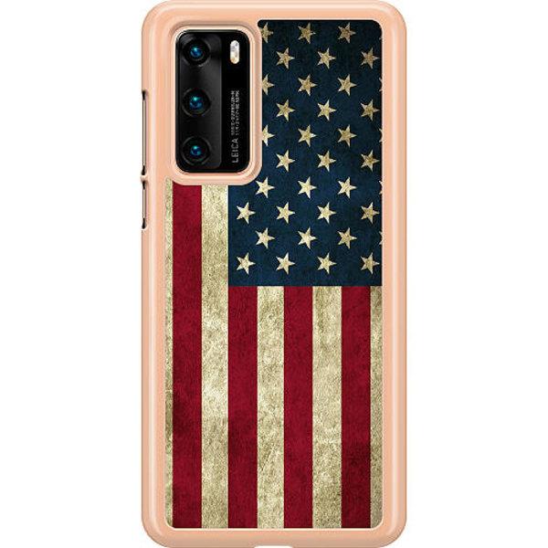 Huawei P40 Hard Case (Transparent) USA