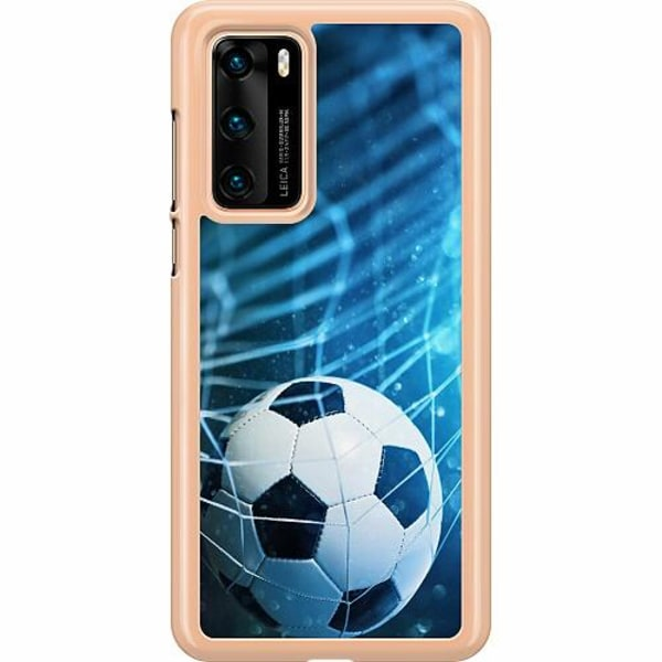 Huawei P40 Hard Case (Transparent) VM Fotboll 2018