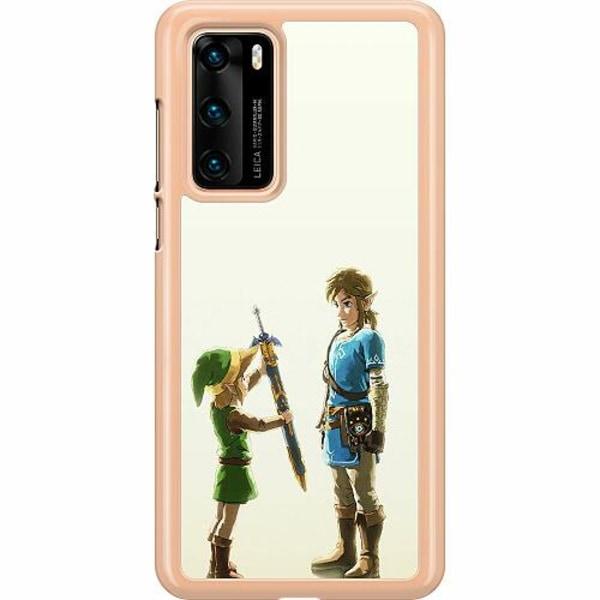 Huawei P40 Hard Case (Transparent) Zelda