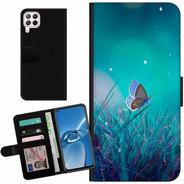 Huawei P40 Lite Billigt Fodral Magical Butterfly