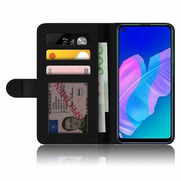 Huawei P40 Lite E Fodralskal Midnight