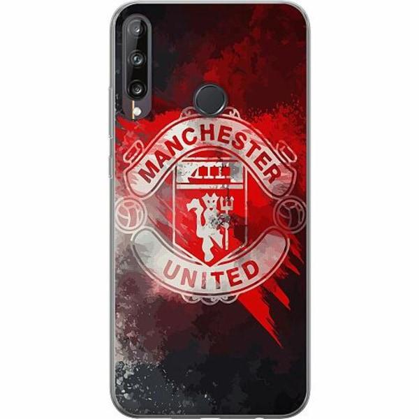 Huawei P40 Lite E Thin Case Manchester United FC