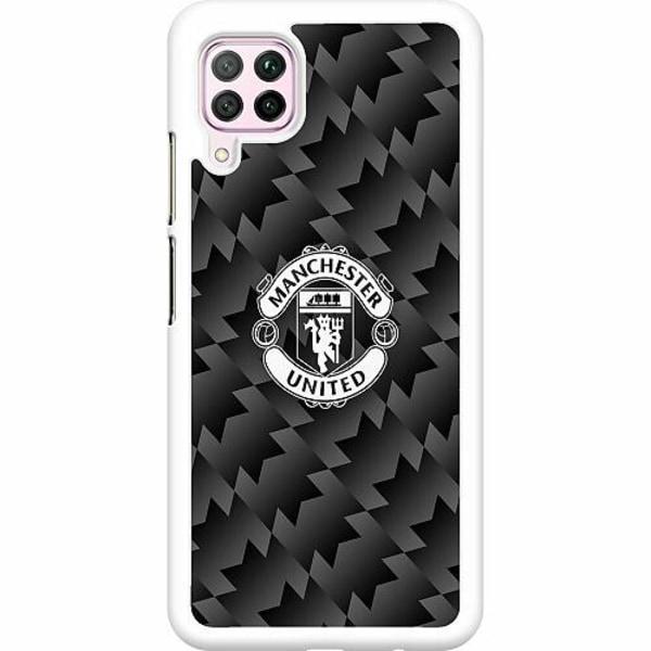 Huawei P40 Lite Hard Case (Vit) Manchester United FC