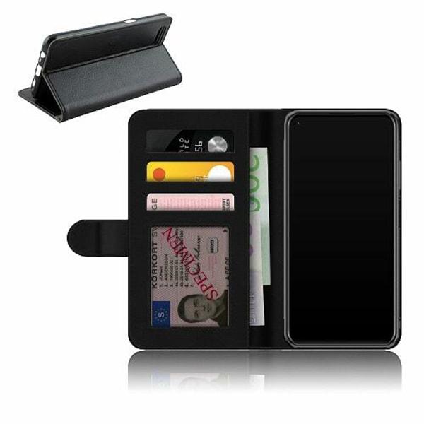 Huawei P40 Lite Plånboksfodral Bokstäver
