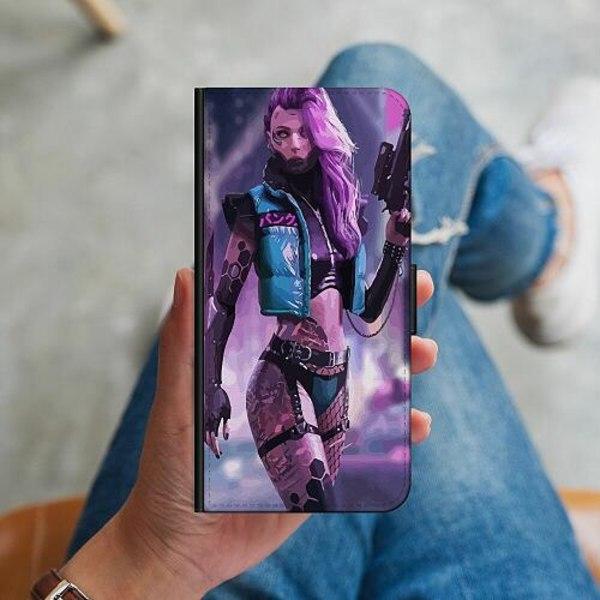 Samsung Galaxy A41 Plånboksskal Cyberpunk 2077