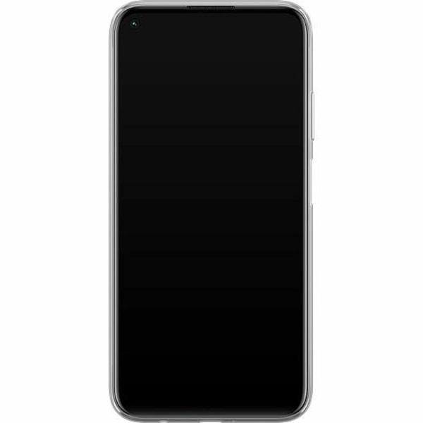 Huawei P40 Lite Mjukt skal - Marmor