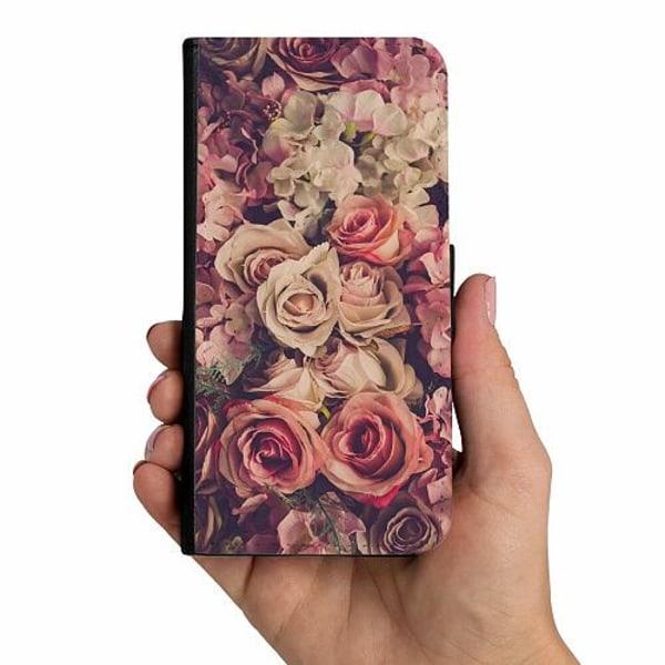 Samsung Galaxy A52 5G Mobilskalsväska Blommor