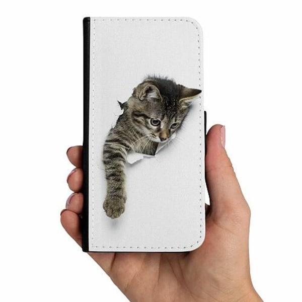 Samsung Galaxy A51 Mobilskalsväska Curious Kitten