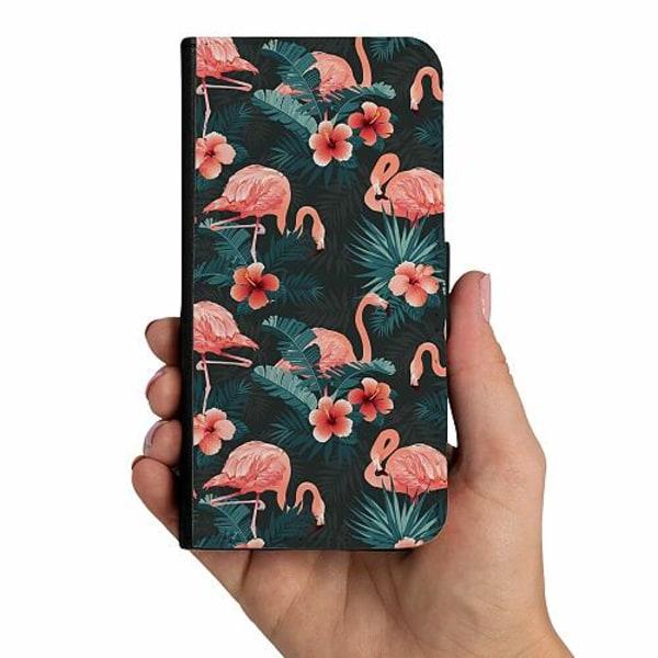Samsung Galaxy A40 Mobilskalsväska Flamingo Fever