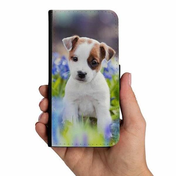 Samsung Galaxy A40 Mobilskalsväska Hello Doggo