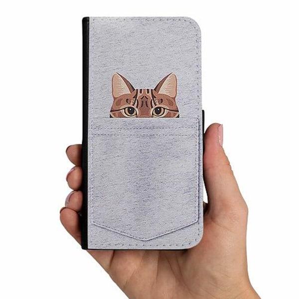 Samsung Galaxy A40 Mobilskalsväska Katt