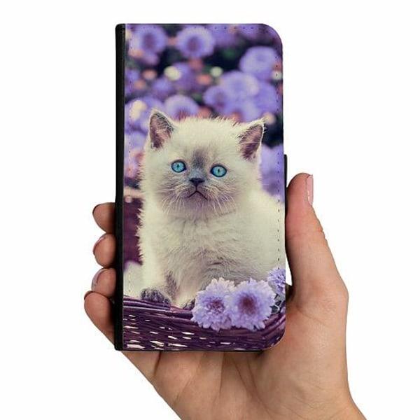 Xiaomi Mi 10T Lite Mobilskalsväska Katt