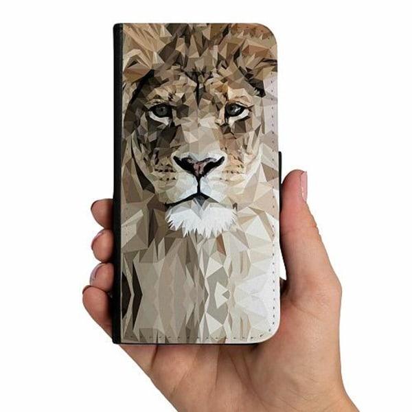 Samsung Galaxy A40 Mobilskalsväska Lejon