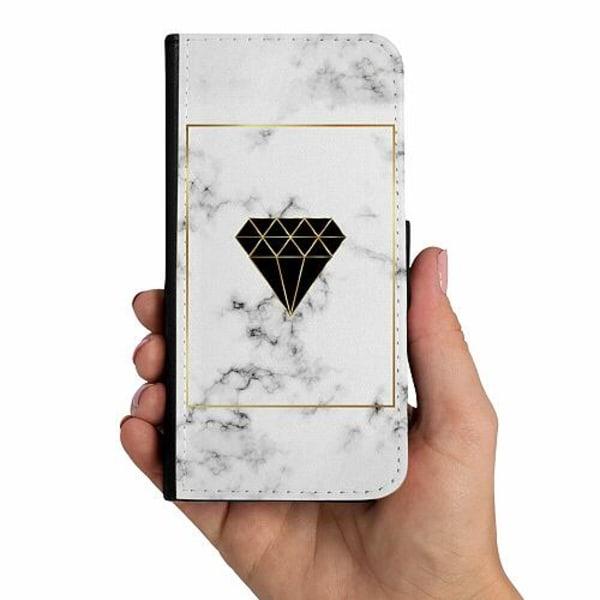 Samsung Galaxy A50 Mobilskalsväska Marble Diamond