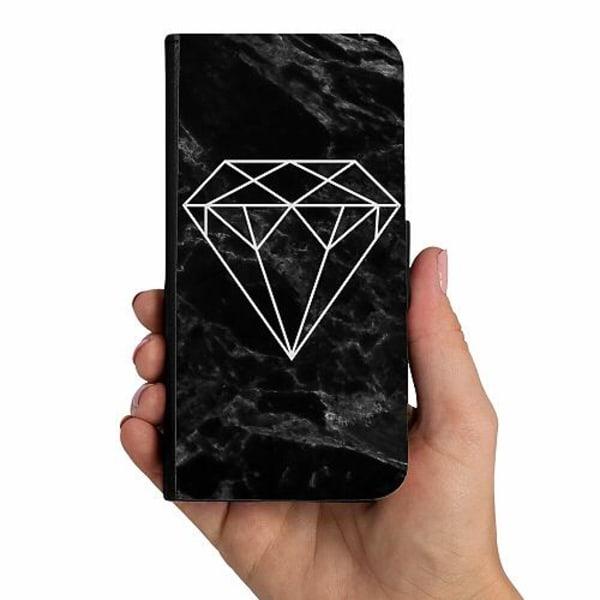 Samsung Galaxy A50 Mobilskalsväska Marmor Diamant