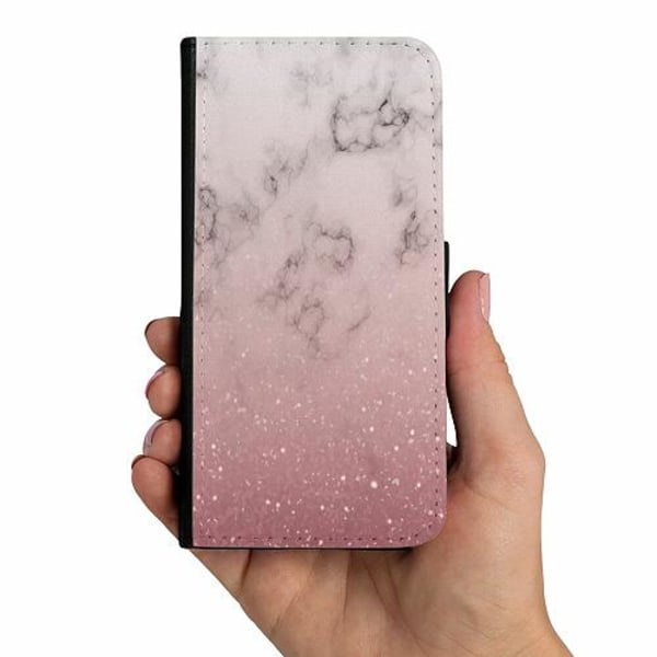 Samsung Galaxy A40 Mobilskalsväska Soft Pink Marble