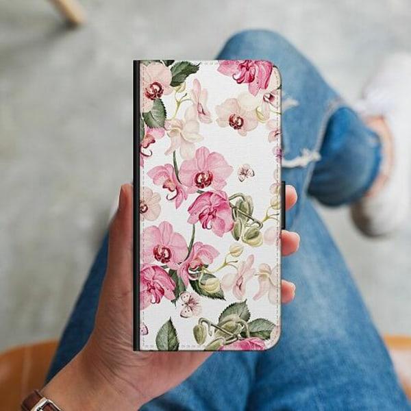 Samsung Galaxy Note 9 Plånboksskal Blommor