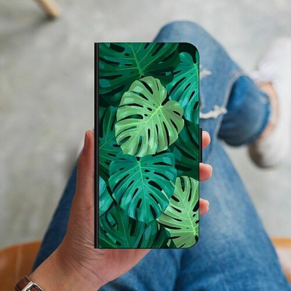 Samsung Galaxy A41 Plånboksskal Löv