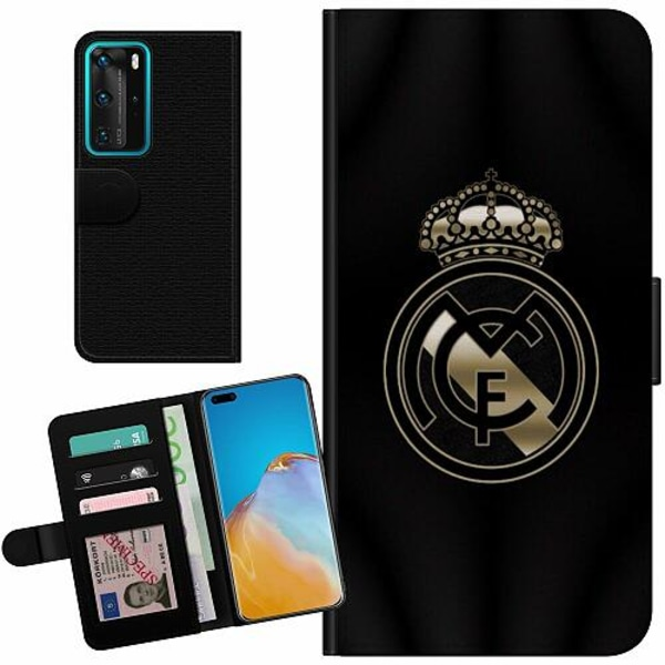 Huawei P40 Pro Billigt Fodral Real Madrid CF