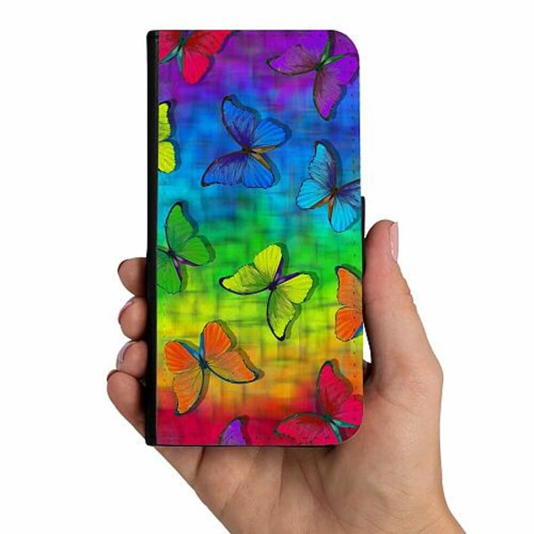 Huawei P20 Lite Mobilskalsväska Flying Rainbow Is Free