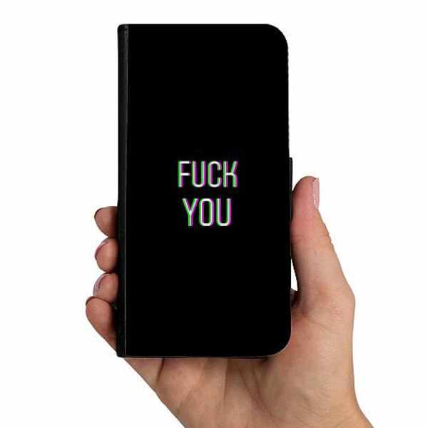Samsung Galaxy A51 Mobilskalsväska FUCK YOU *