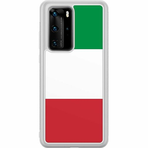 Huawei P40 Pro Soft Case (Frostad) Italien / Italy