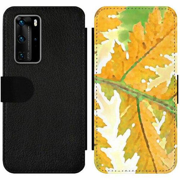Huawei P40 Pro Wallet Slim Case Autumn Left