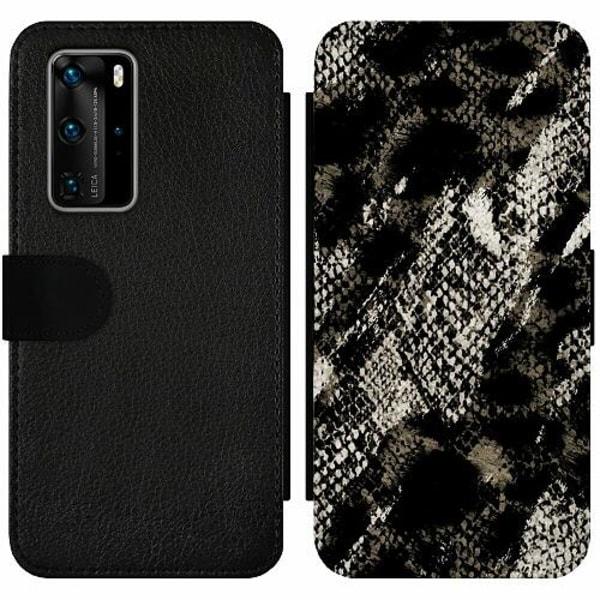 Huawei P40 Pro Wallet Slim Case Snakeskin G