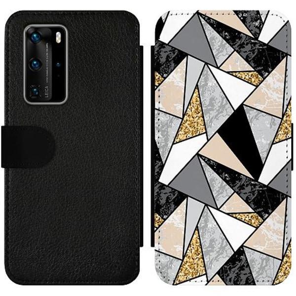 Huawei P40 Pro Wallet Slim Case Mönster