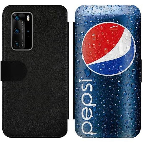 Huawei P40 Pro Wallet Slim Case Pepsi