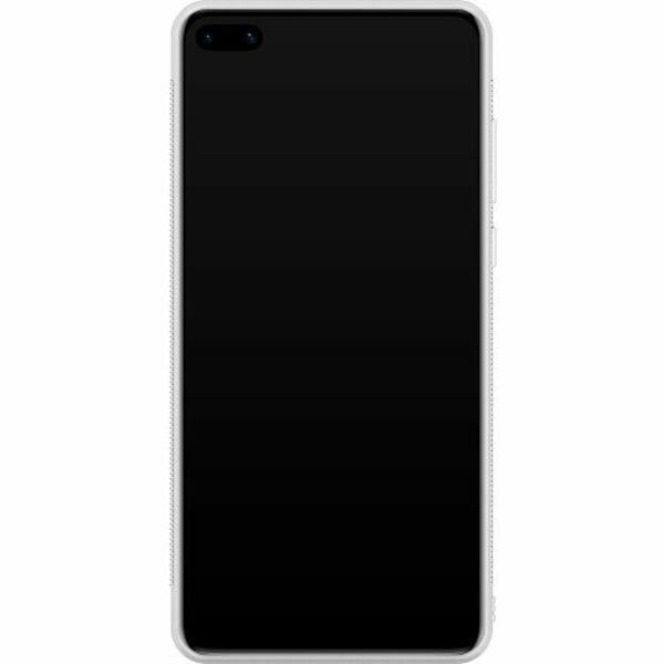 Huawei P40 Soft Case (Vit) Pattern