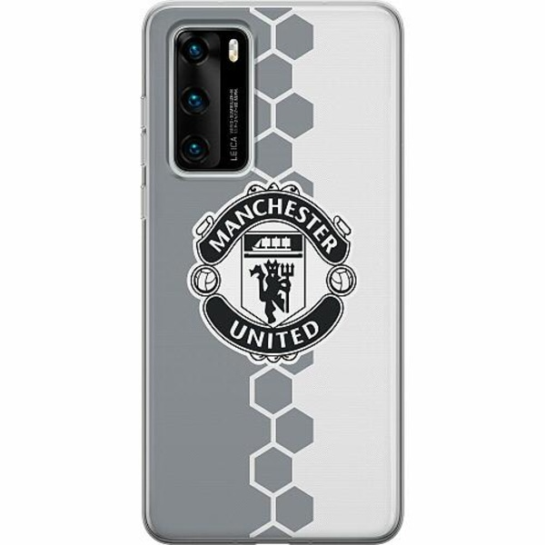 Huawei P40 Thin Case Manchester United FC