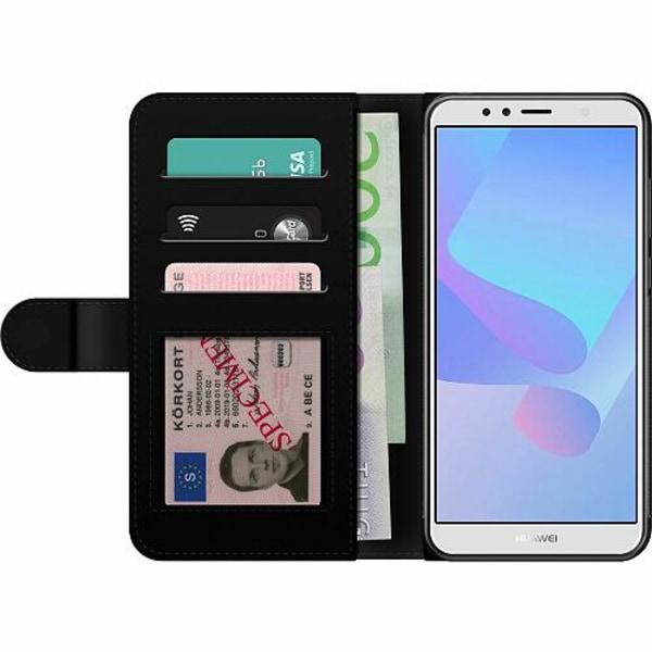 Huawei Y6 (2018) Billigt Fodral Bokstäver