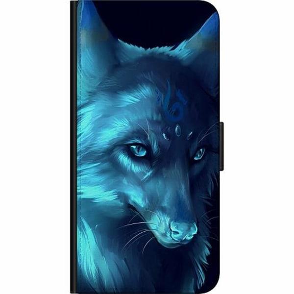 OnePlus 7T Fodralväska Wolf / Varg