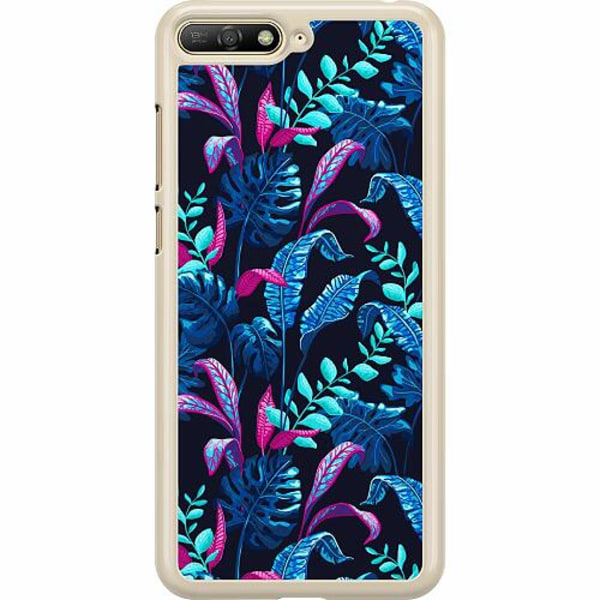 Huawei Y6 (2018) Hard Case (Transparent) Fairy Forest
