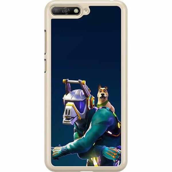 Huawei Y6 (2018) Hard Case (Transparent) Fortnite Dj Yonder