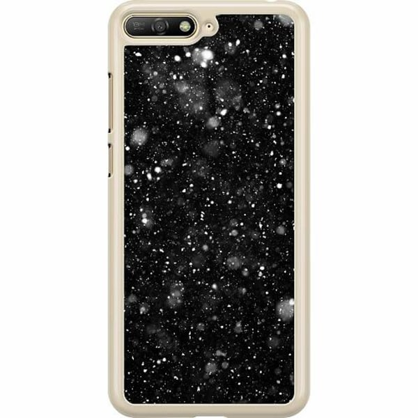 Huawei Y6 (2018) Hard Case (Transparent) Galactic
