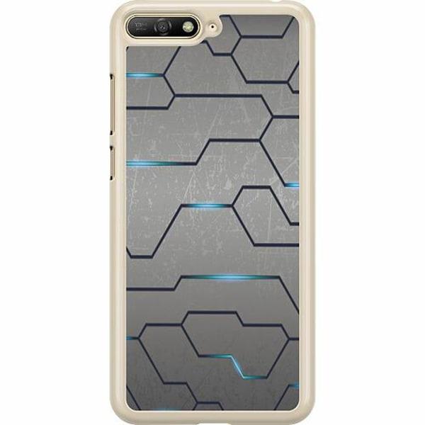 Huawei Y6 (2018) Hard Case (Transparent) Mönster
