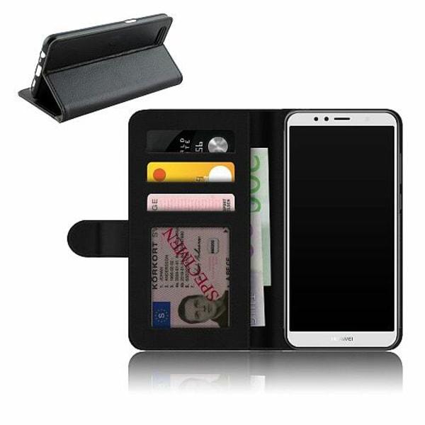 Huawei Y6 (2018) Plånboksfodral Bokstäver