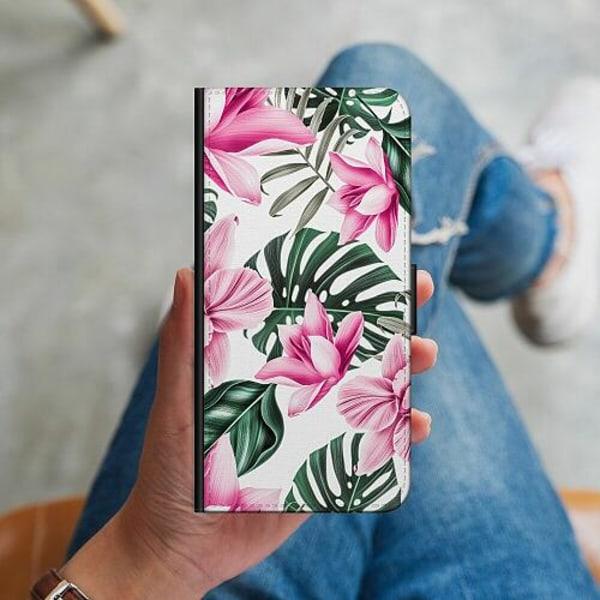 Apple iPhone 12 mini Plånboksskal Blommor