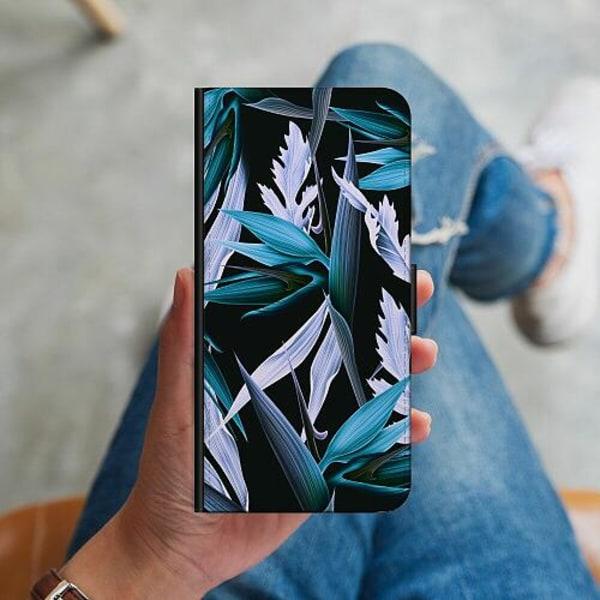 Huawei P Smart (2019) Plånboksskal Blue Flower