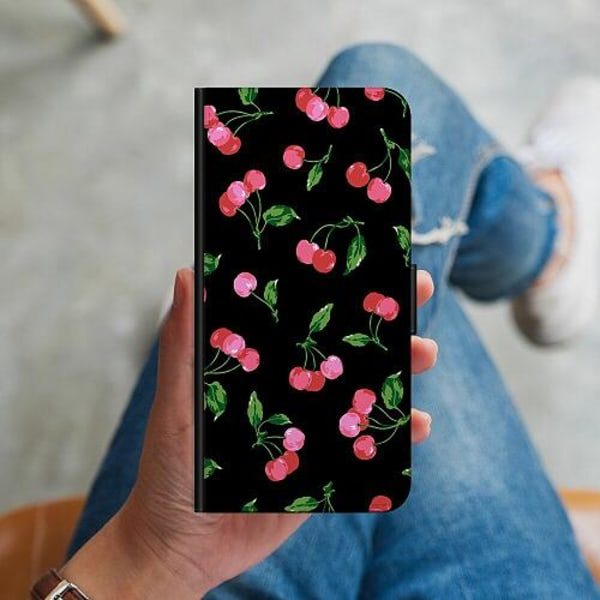 Samsung Galaxy A51 Plånboksskal Cherry