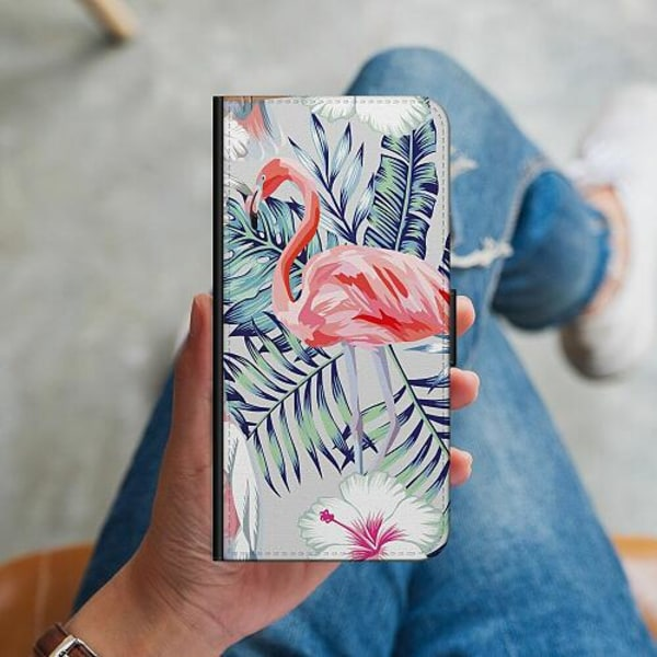 Apple iPhone 12 mini Plånboksskal Flamingo