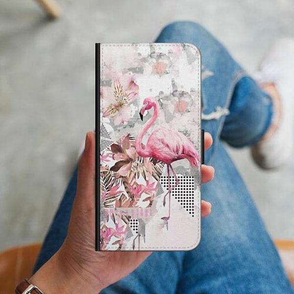 Huawei P40 Lite Plånboksskal Flamingo