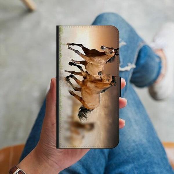 Samsung Galaxy A51 Plånboksskal Hästar